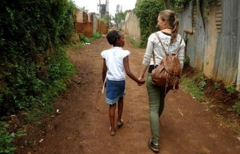 volunteering in Africa
