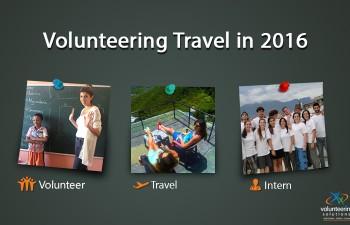 Volunteer travel in 2016