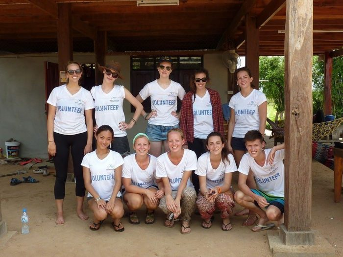 one week volunteering in Thailand