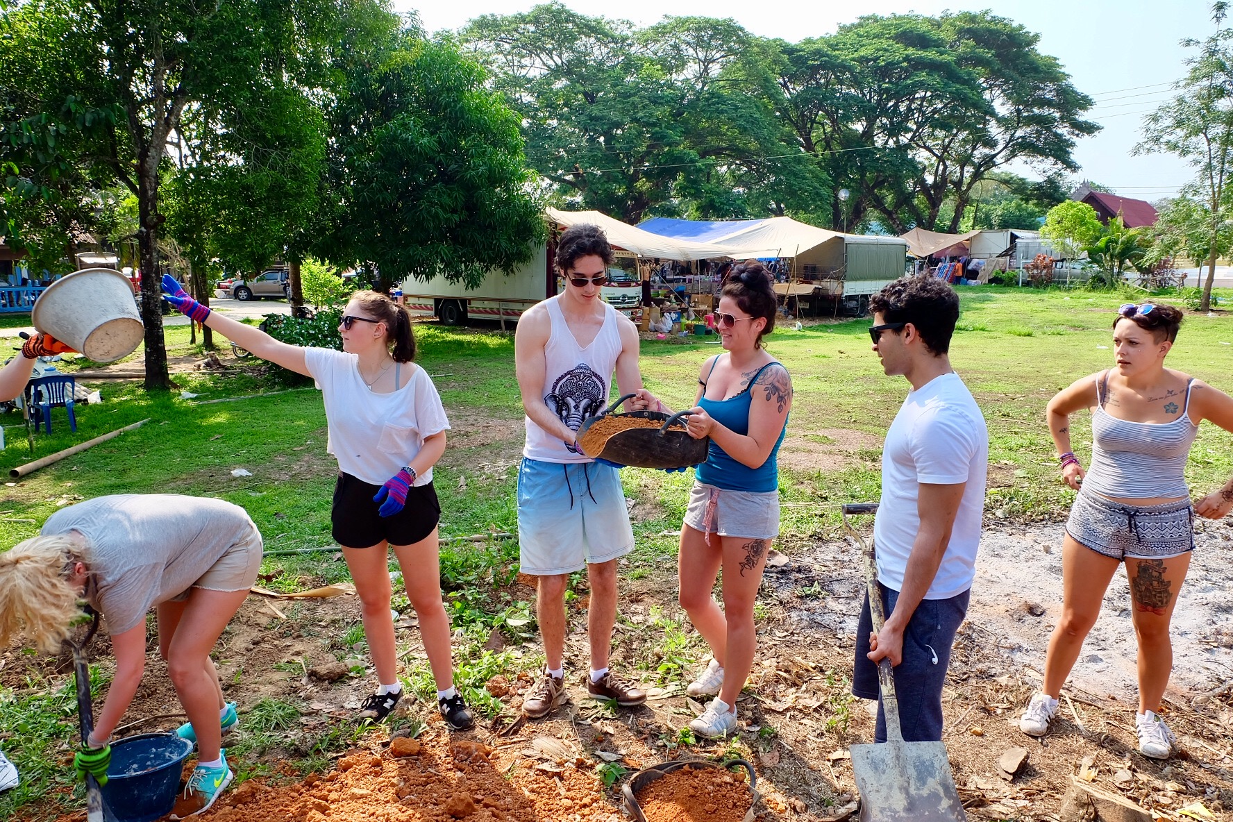 group volunteer program in Thailand