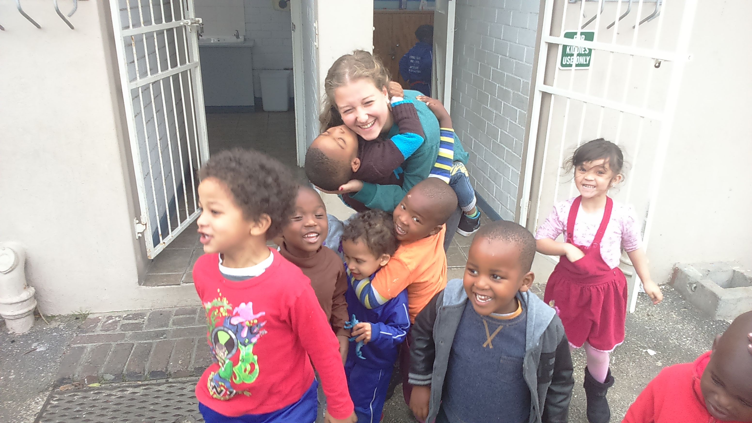 childcare volunteering in south africa