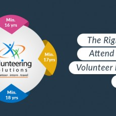 right age to attend different volunteer programs abroad