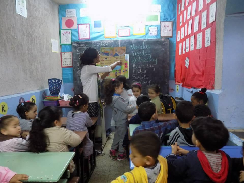 volunteer in morocco with children