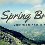 Alternative Spring Break Volunteer Trips 2017 For Students