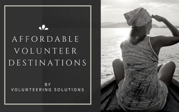 Affordable Volunteer destinations