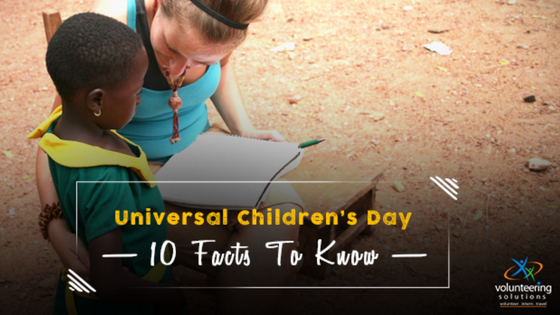 """Universal Children's Day"": 10 Facts To Show Why It's Important"