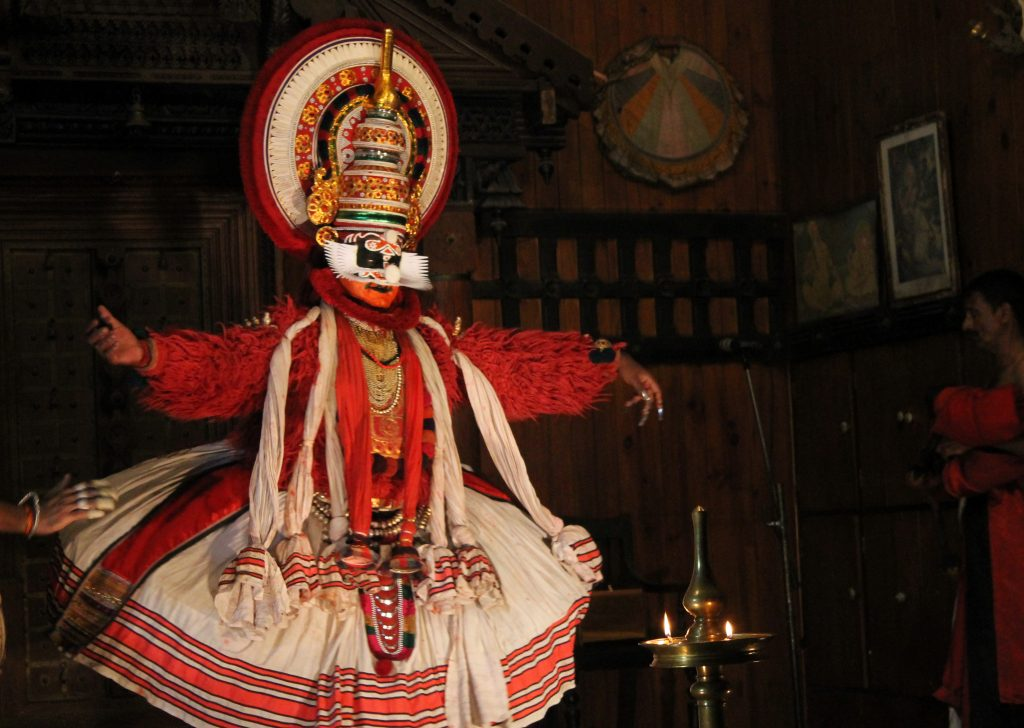 Kathak Kali Show in Kerala