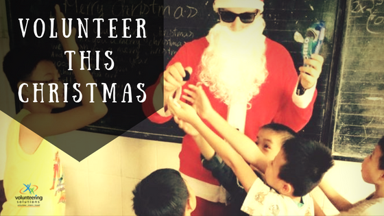 Be A Santa – Travel Abroad To Volunteer This Christmas