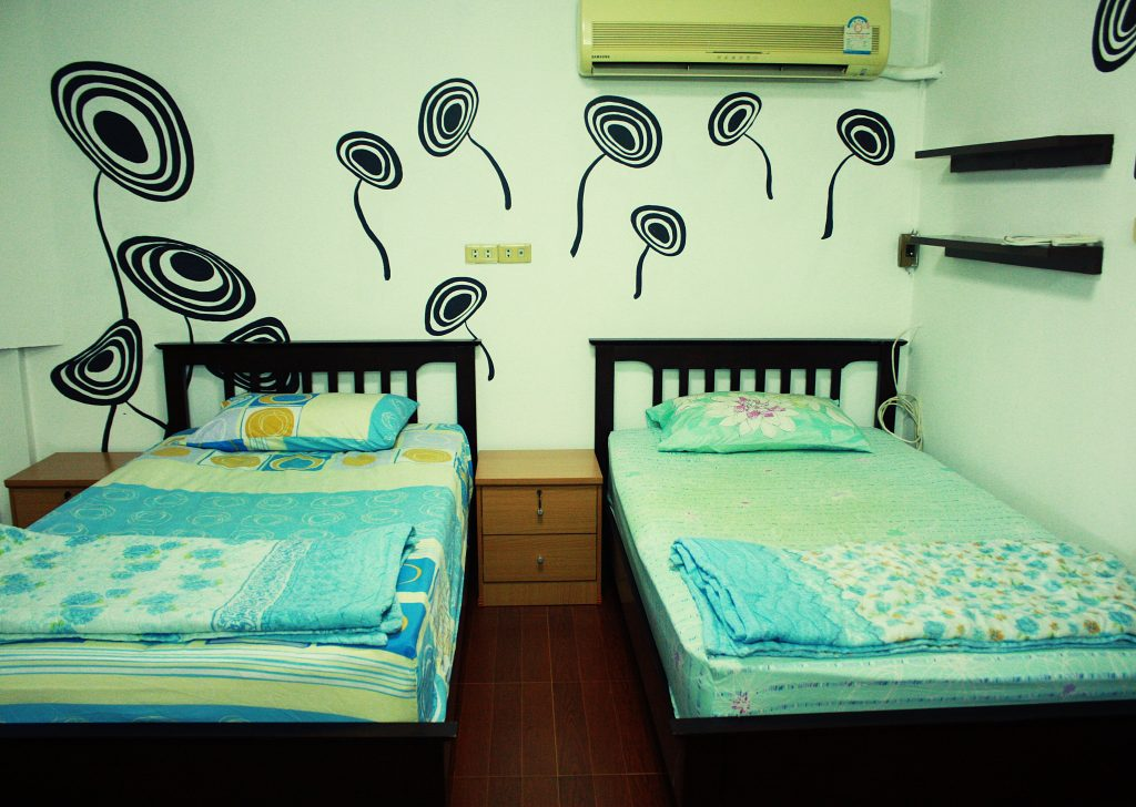 volunteers accommodation in Bangkok-Thailand
