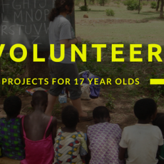 Volunteering Programs Abroad for 17 Year Olds