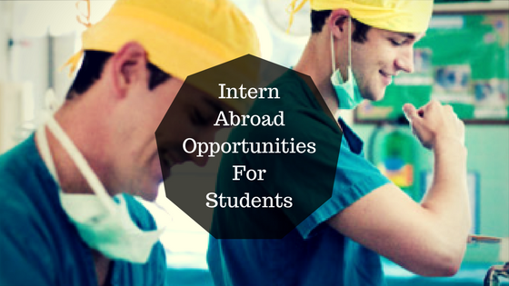 Best Internship Abroad Opportunities For Students In 2017