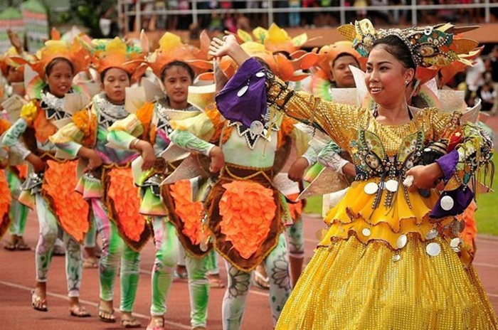 colorful festivals in Tacloban