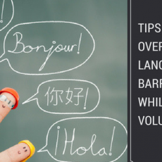 how to overcome language barriers while volunteering