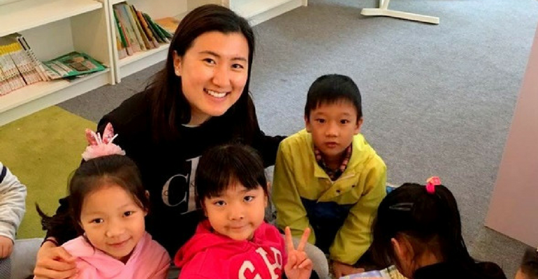 Big Smiles From China – Christina Li's Volunteering Experience