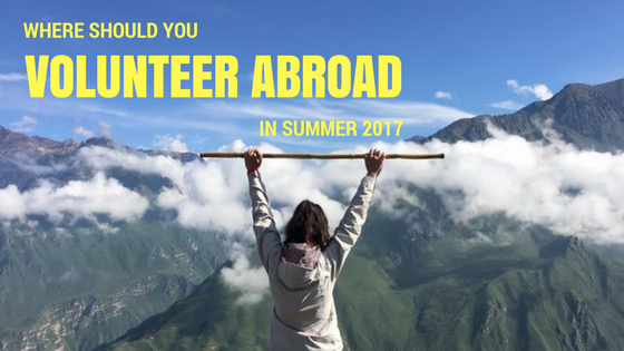 Quiz: Where Should You Volunteer During Summer 2017?