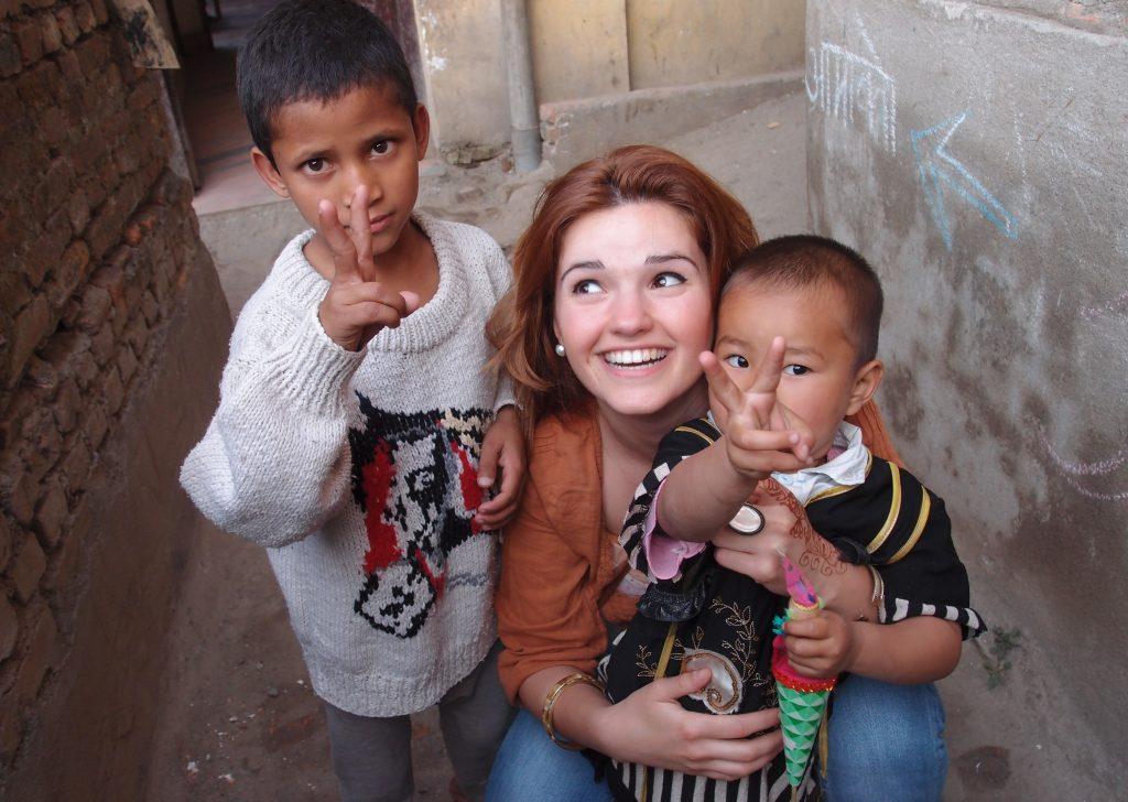 summer volunteer in Nepal