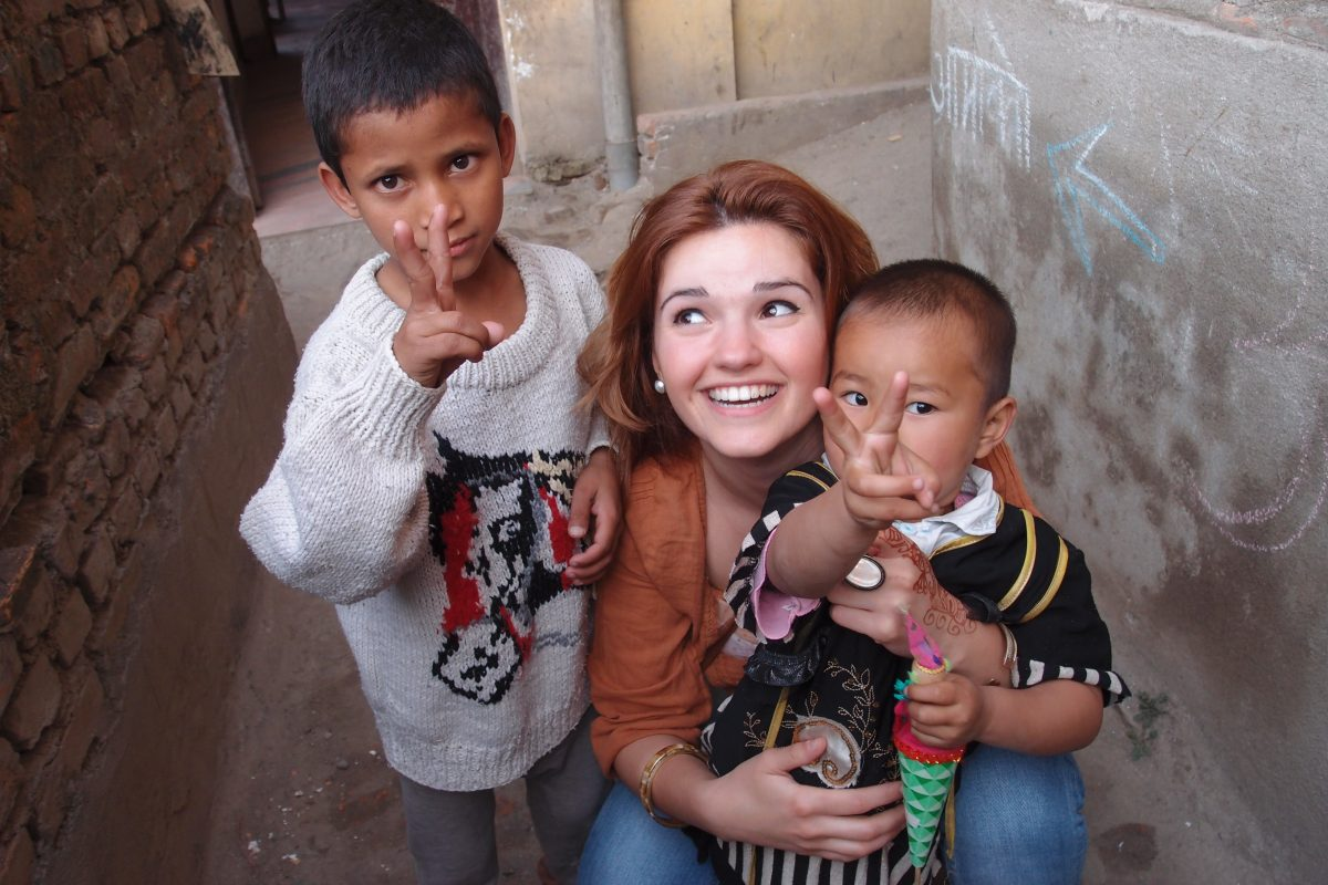 summer volunteer in Nepal