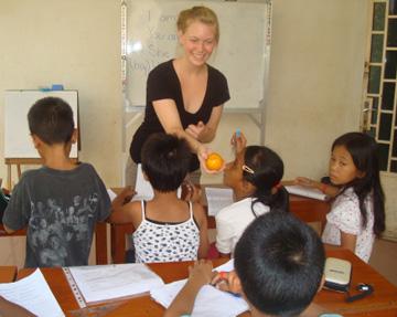 summer volunteer in Cambodia