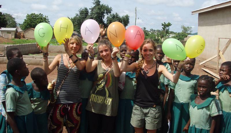summer volunteer in Ghana