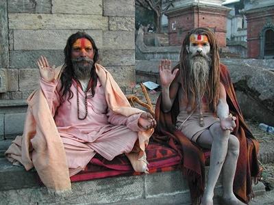 Sadhus_Pashupatinath_Temple