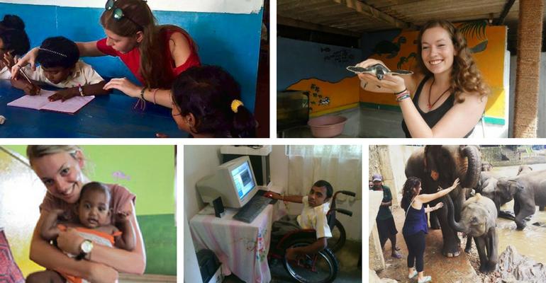 volunteer projects in Sri Lanka