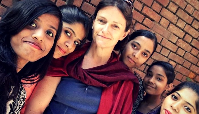 volunteering experience in India