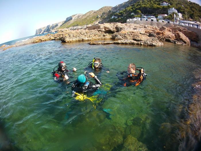 Marine conservation volunteering in Spain