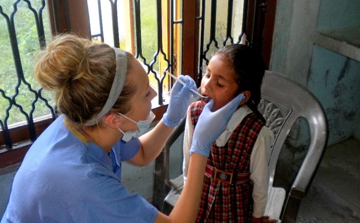 medical volunteering in India
