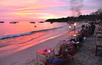 Relax at the cost of Sihanoukville in cambodia