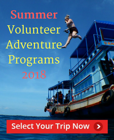 Summer volunteer abroad projects 2017