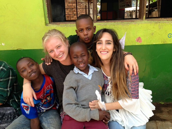 chilcare volunteering in Tanzania