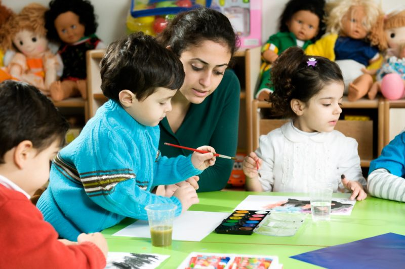 childcare volunteer in Spain