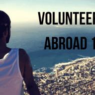 volunteering abroad 101
