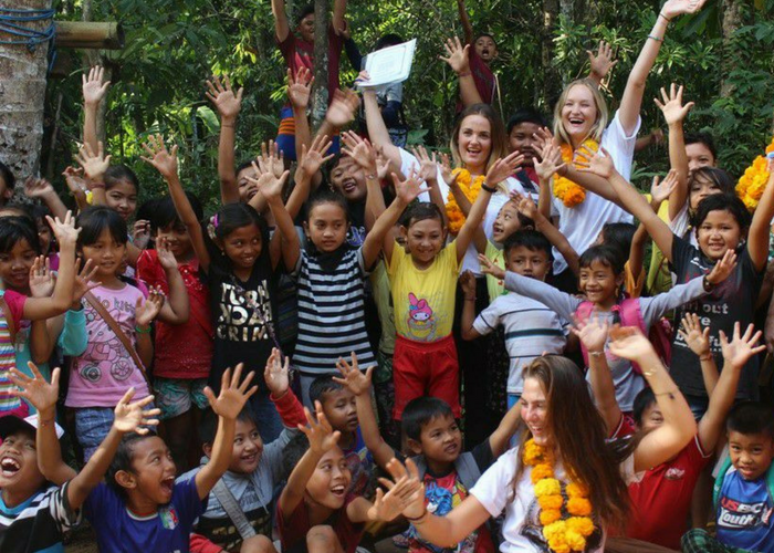 Bali kindergarten volunteering project