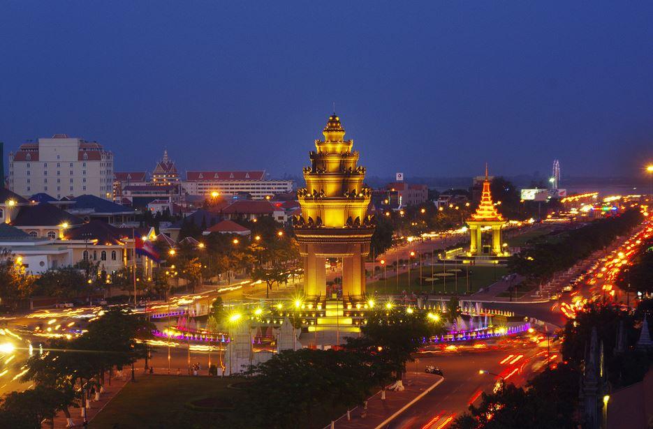 capital city of Phnom Penh