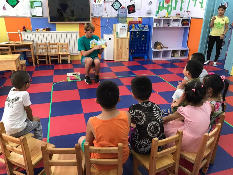 english teaching in China volsol