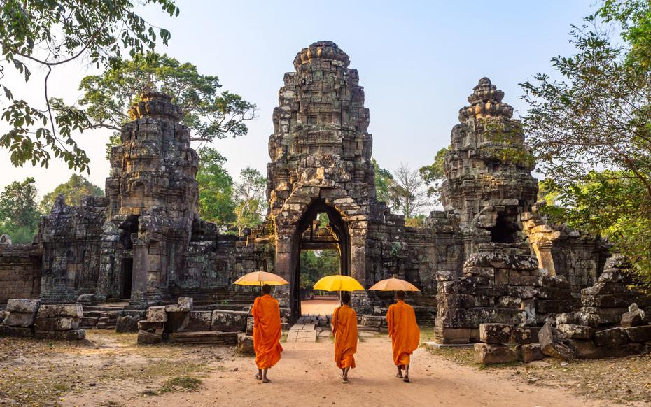 ruins of Angkor at Siem Reap