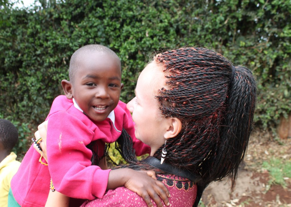 volunteering in Kenya childcare