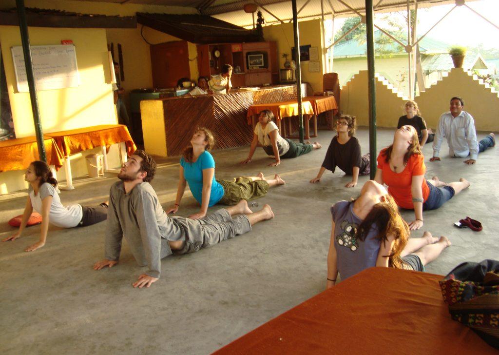 yoga and volunteer program
