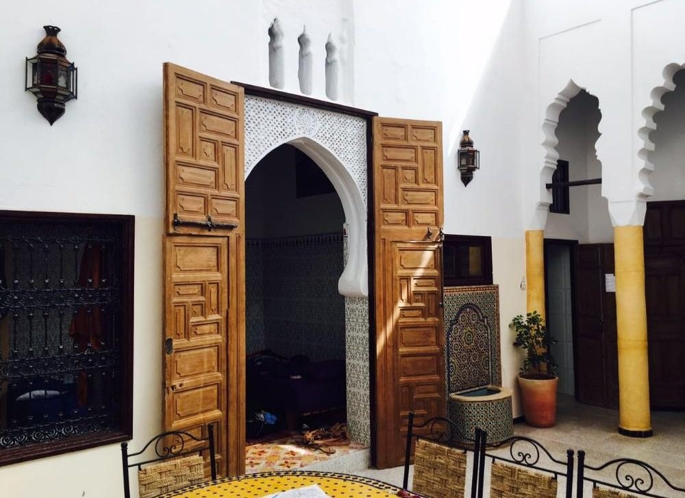 volunteer accommodation in morocco