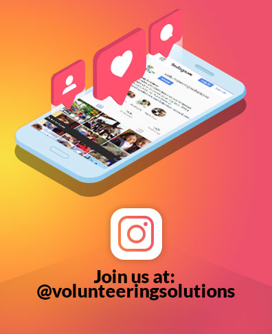 Join Volunteering Solutions on Instagram