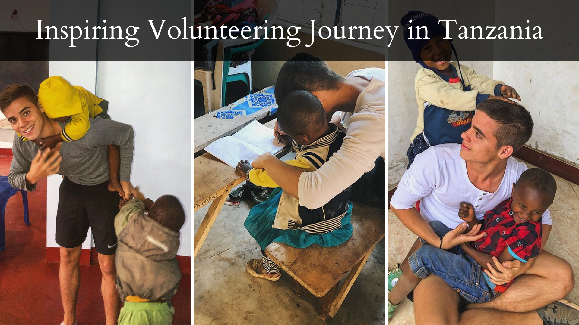 volunteering journey in Tanzania