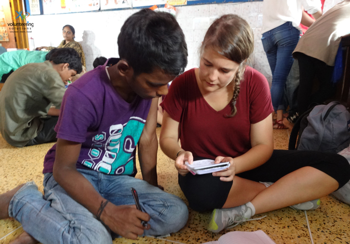 summer volunteer in India