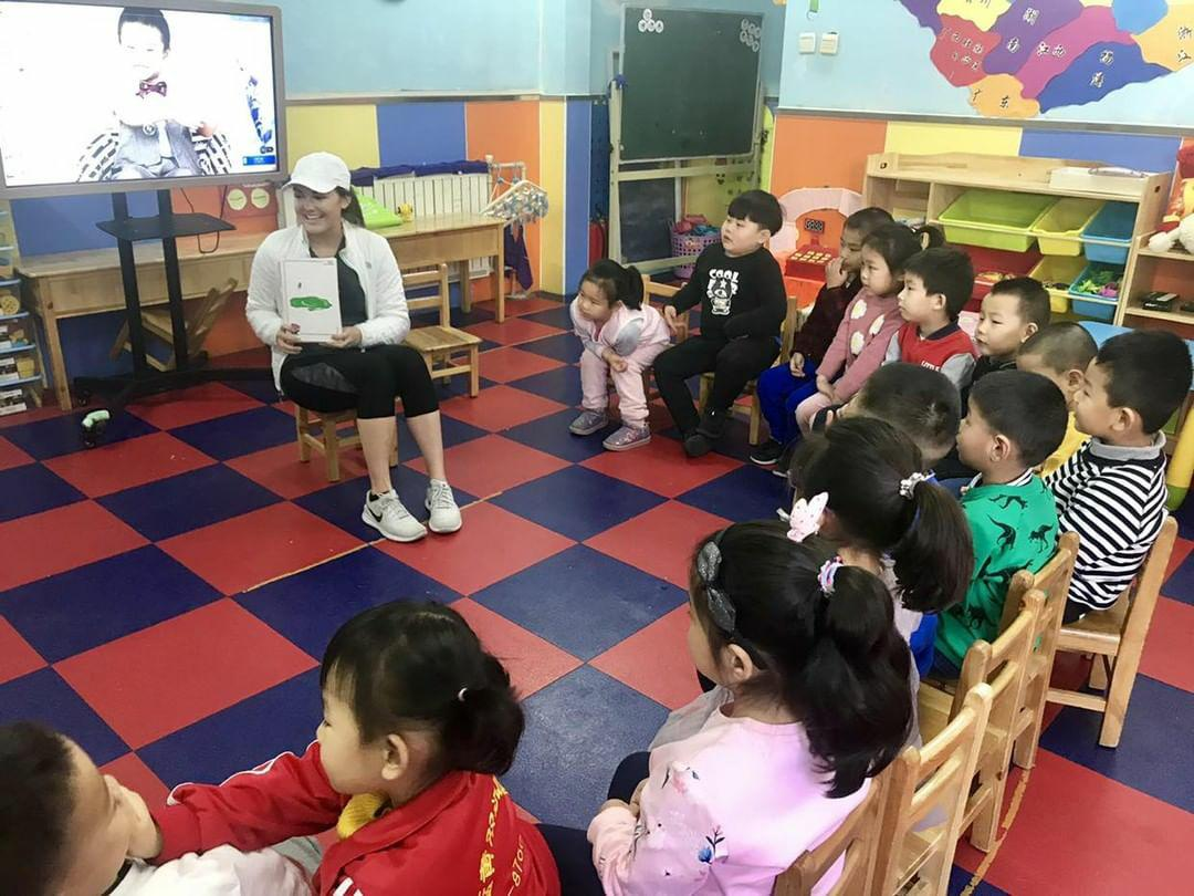 Teaching english in China with volsol