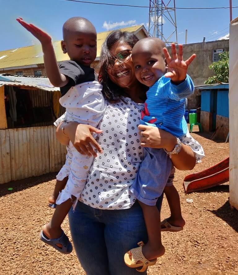 bénévole au kenya