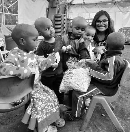 volunteering in kenya by riyanka