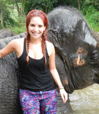 ADELINA ZENDEJAS-Volunteer at Elephant Camp in Thailand with Volunteering Solutions - Reviews